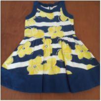 Vestido floral Gymboree ( 4 anos )