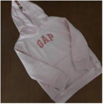 Moletom com capuz menina Gap (6- 7 anos) - 6 anos - GAP