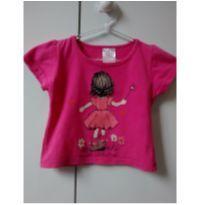 Blusa rosa menininha - 1 ano - Não informada
