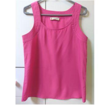 Blusa rosa crepe - PP - 36 - clock house