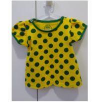Blusinha Brasil - 9 a 12 meses - Basic + Baby