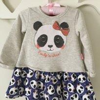 Vestido panda kyly - 2 anos - Kyly
