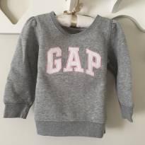 Blusa moletom Gap - 2 anos - GAP