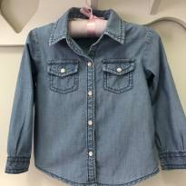 Camisa jeans Carters - 2 anos - Carter`s