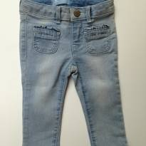Calça jeans skinny fit - 12 a 18 meses - Baby Gap