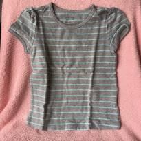 T-shirt Baby Gap Listrada - 4 anos - Baby Gap