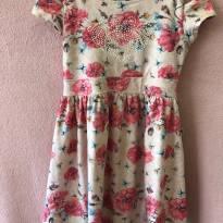 Vestido de Flores - 8 anos - Kiki Xodó