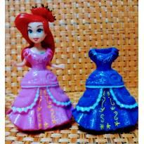 Linda boneca da  Princesa Ariel, com vestido Clipping - Sem faixa etaria - Não informada