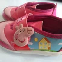 Peppa Pig Tenis tamanho 22 - 22 - Grendene