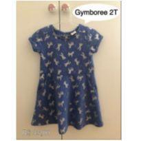 Vestido Unicórnios - 2 anos - Gymboree