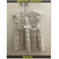 Vestido de Festa - 2 anos - Dolce Lily