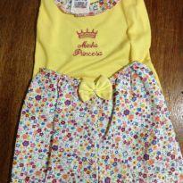 Conjunto Bebê Amarelo e Florido 03 a 06 meses - 3 a 6 meses - Leticia baby