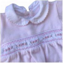 Saída de maternidade rosa chique - Recém Nascido - Silmara