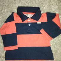Camisa manga longa M - 6 meses - Fisher Price e Milon