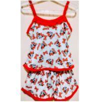 Pijama Infantil Baby doll Menina Minnie - 4 anos - Outro