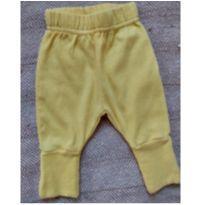 Calça de passeio RN amarela - Recém Nascido - Outro