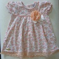 Vestido Super Delicado - 3 a 6 meses - Sonho Mágico
