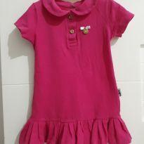 Vestido Pink - 3 anos - Molekada