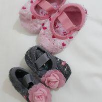 Meia sapatilha (kit ) - 6 a 9 meses - Puket