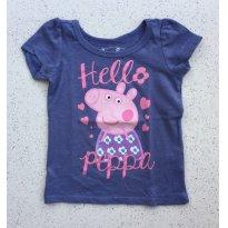 Camisa Peppa Pig - 18 meses - não informada
