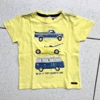 Camiseta Carros - 9 a 12 meses - Paola Da Vinci
