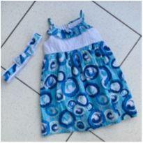 Vestido água - 4 anos - Joana Joao
