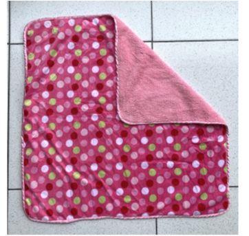 Cobertor Pink bolas - Sem faixa etaria - Little Beginnings
