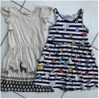 Kit 2 vestidos H&M - 24 a 36 meses - H&M