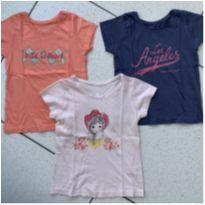 Trio blusas Young Dimension - 4 anos - Young dimension