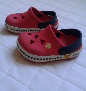 Crocs vermelho Mickey - 20 - Crocs