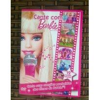 DVD Cante Com Barbie!! -  - Não informada