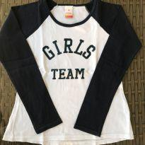 Camisa Girls Team!! - 7 anos - Marisol