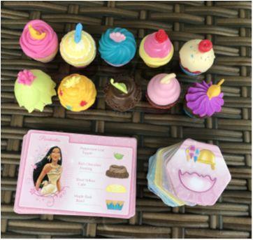 Cupcakes das Princesas!! (EUA) - Sem faixa etaria - Disney