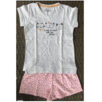 Pijama de Gatinhos - 6 anos - Não informada