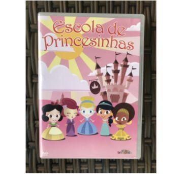 DVD Escola de Princesinhas - Sem faixa etaria - Video brinquedo