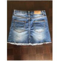 Saia Jeans da Zara - 7 anos - Zara
