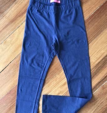 Legging azul marinho nova - 8 anos - Fuzarka
