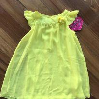 Vestido Amarelo!!! - 5 anos - Marca não registrada