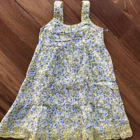 Vestido Florido!! - 4 anos - LUCKY BRAND (USA)