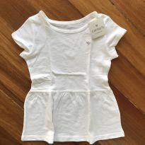 Blusa branca da Carter's com Etiqueta - 6 anos - Carter`s