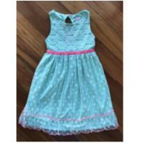 Vestido Verde Rendado Com Etiqueta !! - 6 anos - Sweet Heart Rose