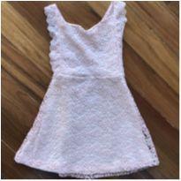 Vestido de Renda da Zara com Etiqueta - 8 anos - Zara