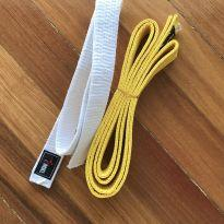Duas faixas de taekwondo -  - Não informada