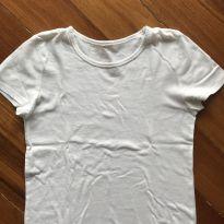 Blusa branca - 8 anos - Sem marca