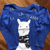 Blusa de Lhama - 7 anos - Carter`s