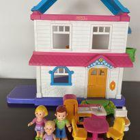 Casa de boneca da fisher price -  - Fisher Price