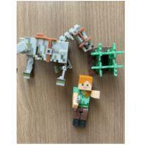 Boneco Minecraft -  - Não informada