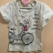 Camisetinha Bike - 1020 - 4 anos - Pitiska