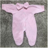 Macacão Rosa Bebê - Recém Nascido - LUIZINHO BABY