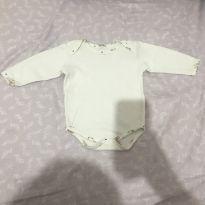 Body branco - 3 meses - sem etiqueta